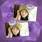 效果缩略图(精美紫色相框模板2)