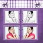 效果缩略图(精美紫色相框模板6)